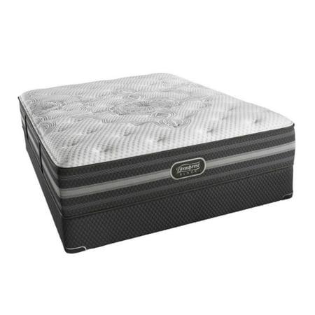 Desiree cal king size luxury firm mattress and standard California king box spring