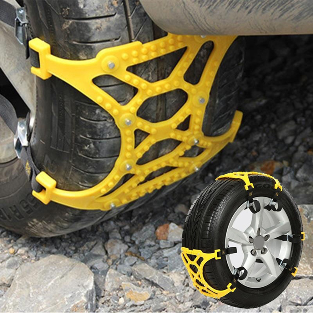 Girl12Queen Car Vehicle Truck Off-Road SUV Safe Snow Tire Wheel Chain Anti-skid Mesh Belt