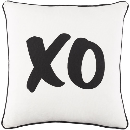 """Artistic Weavers Glyph XO 18"""" x 18"""" Pillow (with Down Fill)"""