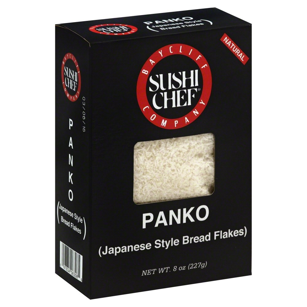 Sushi Chef Bread Flakes, Panko, 8 Oz