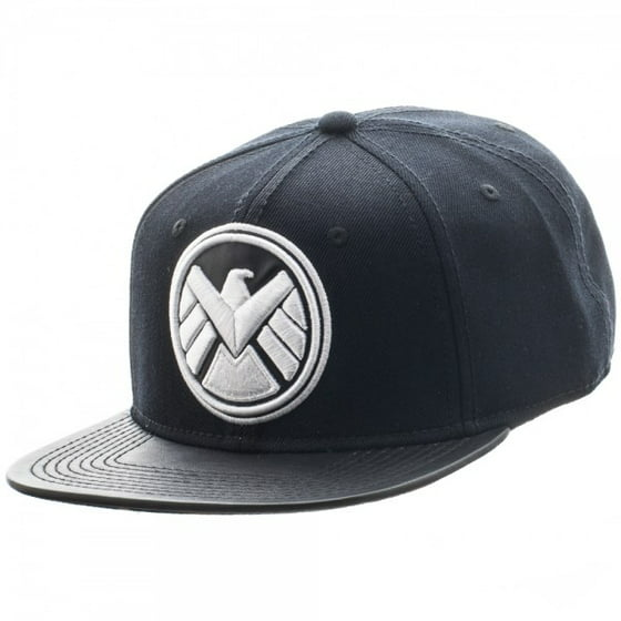 bf39a6ab3e5 Marvel - Baseball Cap - Marvel - Avengers Shield Logo PU Bill ...
