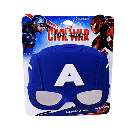 Party Costumes - Sun-Staches - Marvel Civil War Captain America New sg2523 - Captain America Party