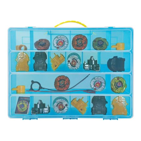 Beyblade Case, Toy Storage Carrying Box. Figures Playset Organizer. Accessories For Kids by LMB - Beyblade Baby