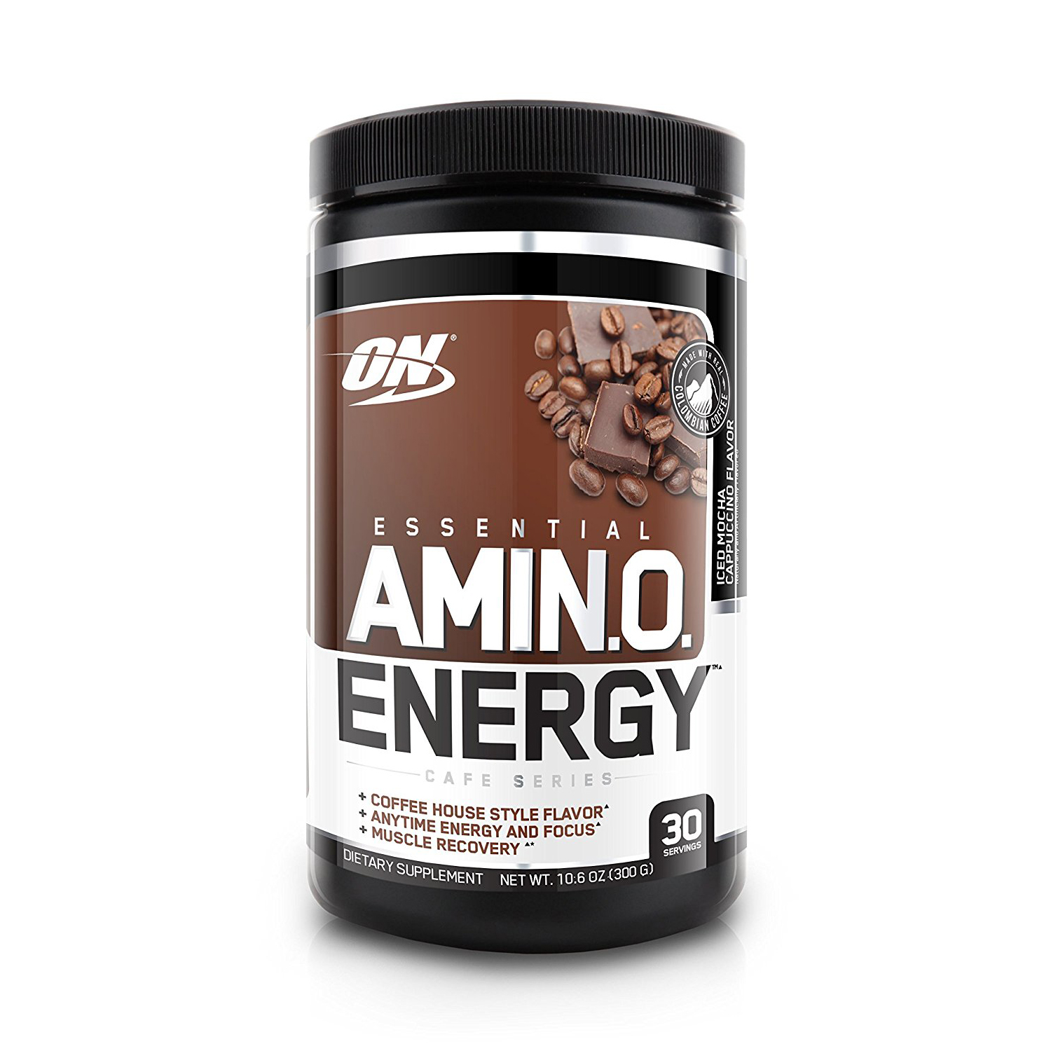 Optimum Nutrition Essential Amino Energy Iced Mocha Cappuccino 30 Servings