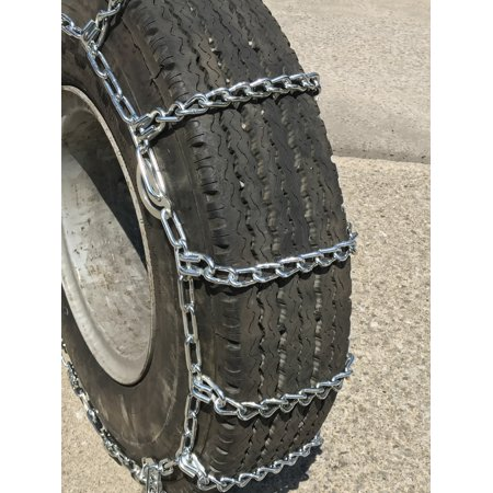 Snow Chains 10-24.5 , 11 24.5  Cam Tire Chains, priced per pair. - image 1 of 4