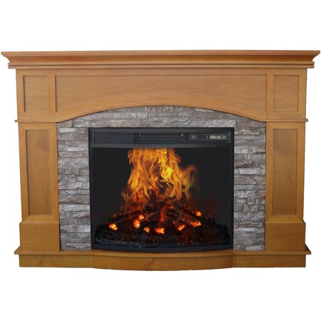 Sensational Decor Flame Electric Fireplace With 50 Mantle Download Free Architecture Designs Meptaeticmadebymaigaardcom