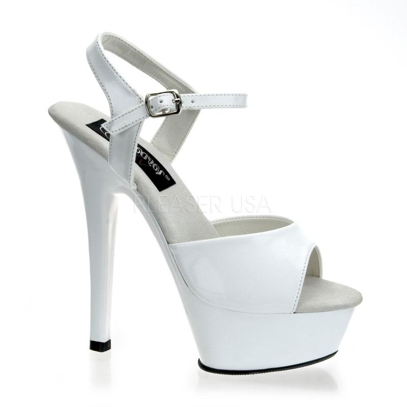 Pleaser Kiss-209 Ankle Strap Platform Sandal