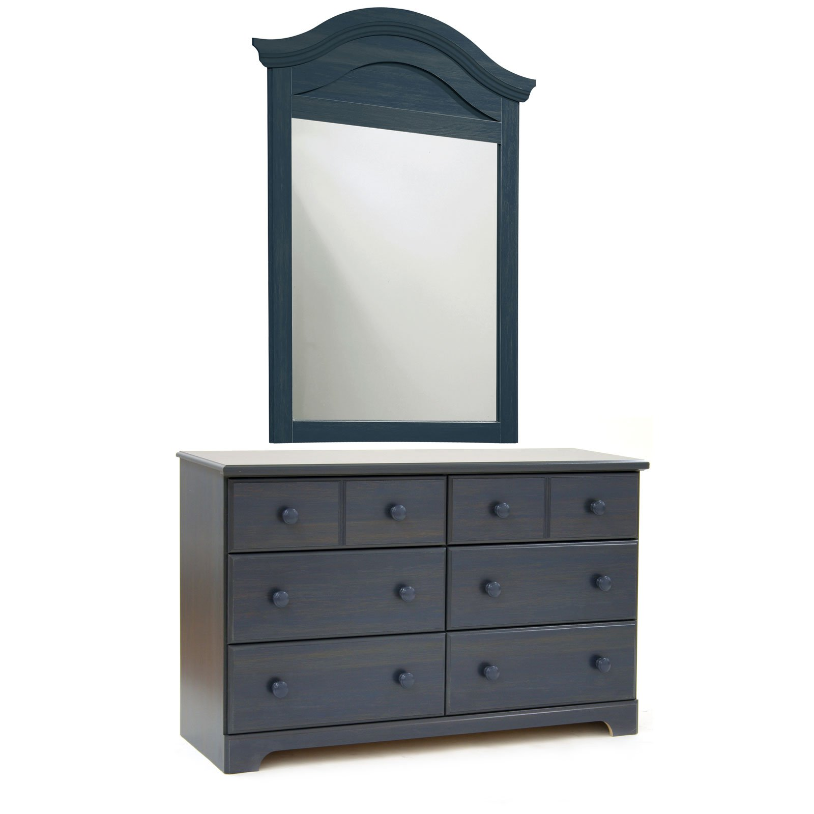 South Shore Summer Breeze Dresser with Optional Mirror-Blueberry