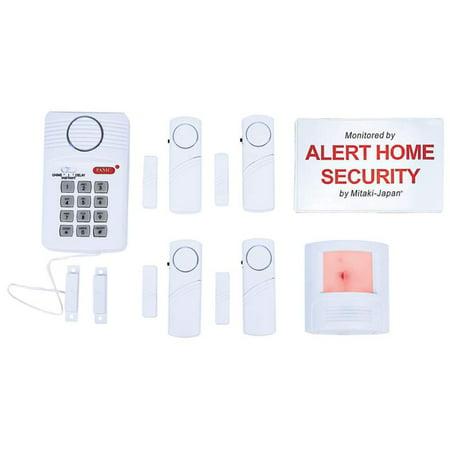 Mitaki-Japan; 6pc Home Security System