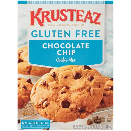 Krusteaz Gluten Free Chocolate Chip Cookie Mix 20 Ounce