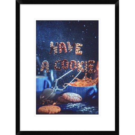 Global Gallery You Deserve A Treat By Dina Belenko Framed Graphic Art