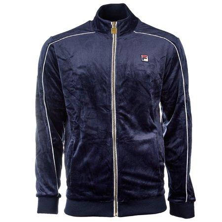 Fila Lineker Track Jacket - Peac/Wht - Mens - XXL ()