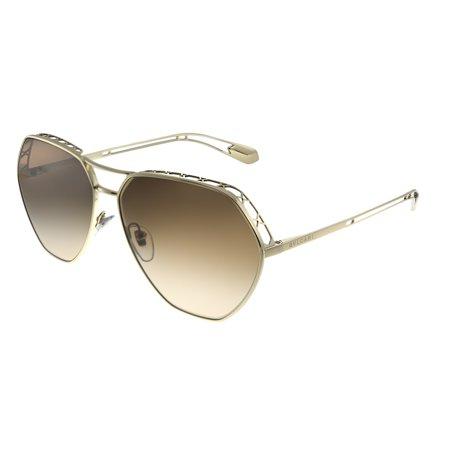 Bvlgari BV 6098 278/13 Womens Aviator Sunglasses