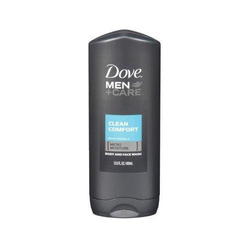2 Pack Dove Men Care Clean Comfort Mild Formula Body And Face Wash 13 5 Oz Each Walmart Com Walmart Com