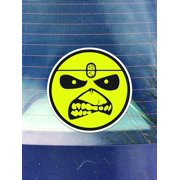 Iron Maiden Vinyl Decals Sticker ( Two Pack ) | Cars Trucks Vans Walls Laptops Cups | Printed | 2 - 4 Inch Decals | KCD963