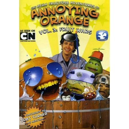 The High Fructose Adventures of Annoying Orange: Volume 3 (DVD) - Annoying Orange Godzilla