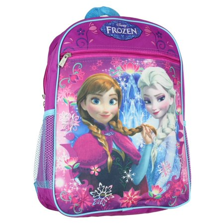 Frozen Princess Elsa and Anna 15 School Backpack ()