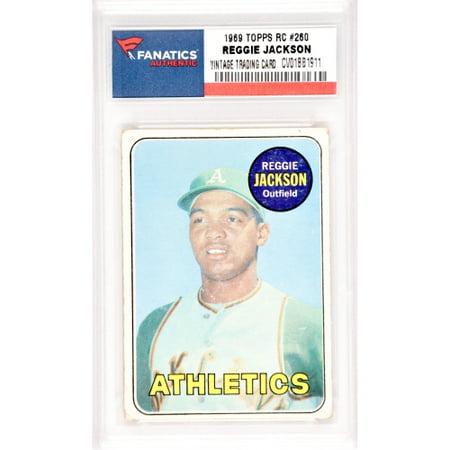 Reggie Jackson Oakland As 1969 Topps Rookie 260 Card