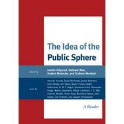 The Idea of the Public Sphere - eBook