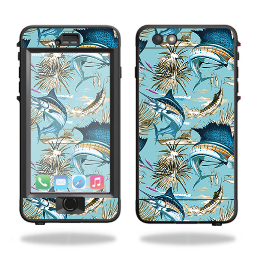 Skin For Lifeproof Nuud iPhone 6s Plus Case – Island Fish | MightySkins Protective, Durable, and Unique Vinyl Decal wrap cover | Easy To Apply, Remove, and Change Styles | Made in the USA
