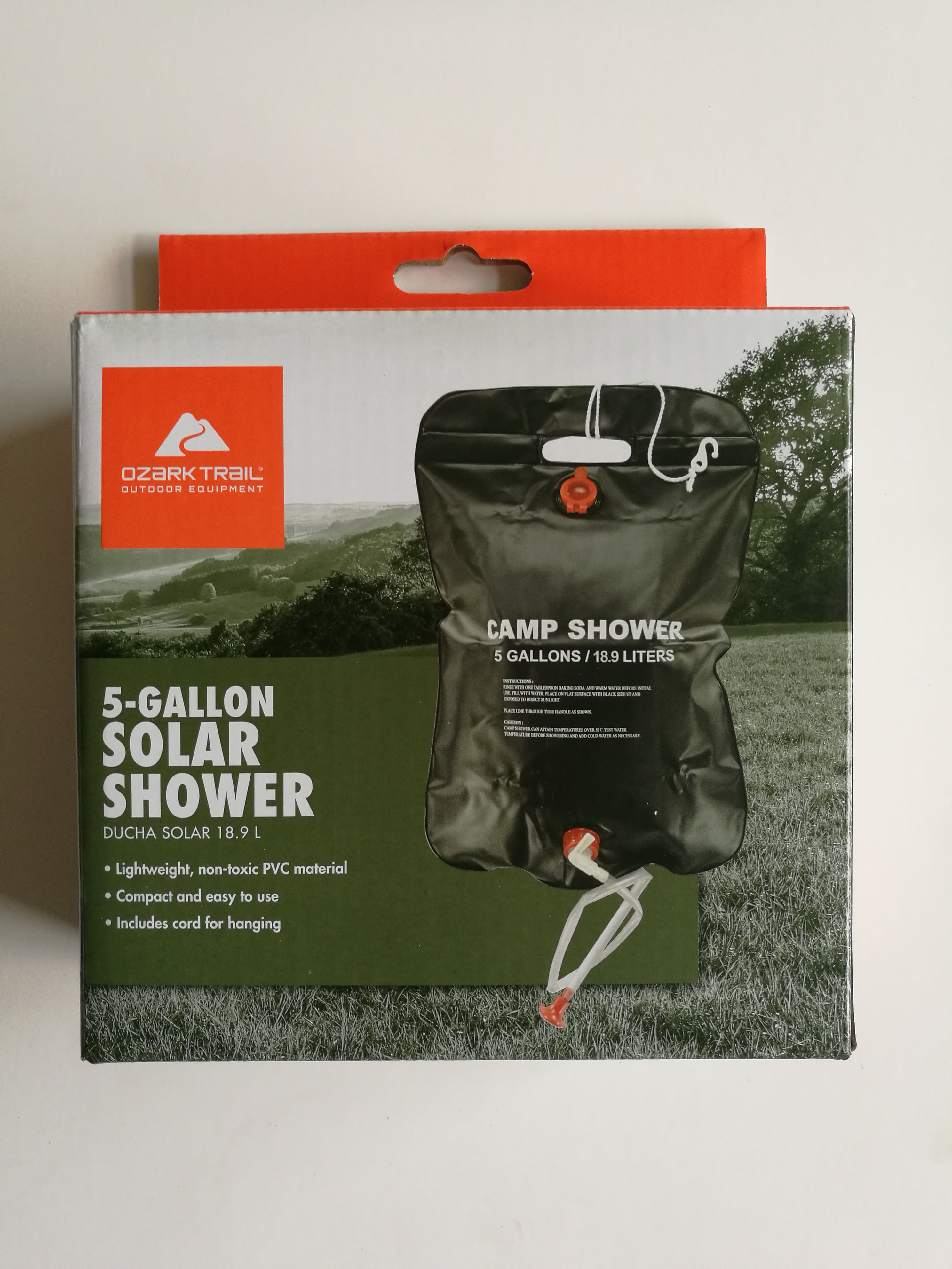 Solar Shower Camping Shower Shower Bag With Shower Head Portable Camping Shower Pool Hot Water Shower Outdoor Shower Pool Show Campcookingsupplies