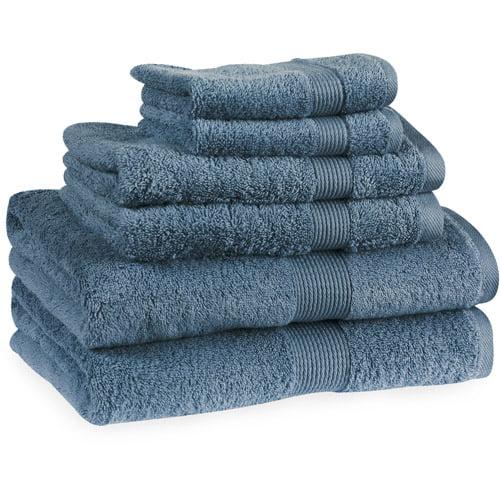 Elite Ring-Spun Cotton 6-Piece Towel Set