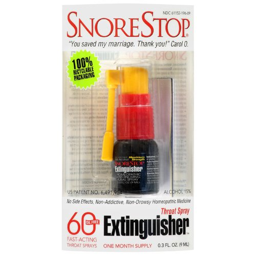 Snore Stop Throat Extinguisher Spray .3 Fl Oz