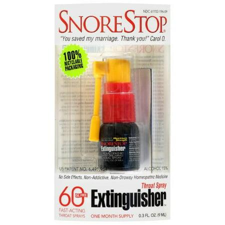 Snore Stop Throat Extinguisher Spray .3 Fl Oz