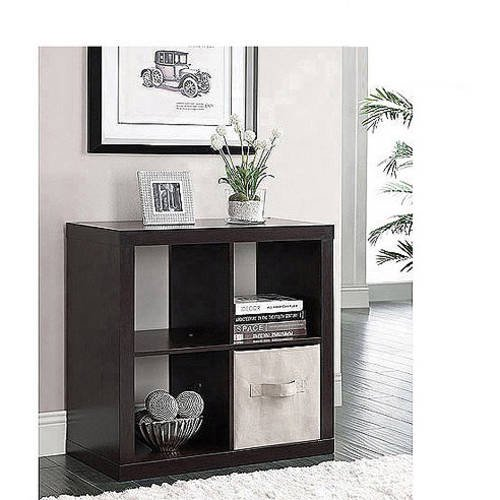 better homes and gardens square 4 cube storage organizer