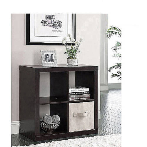 Better Homes and Gardens Square 4-Cube Storage Organizer, Multiple Colors