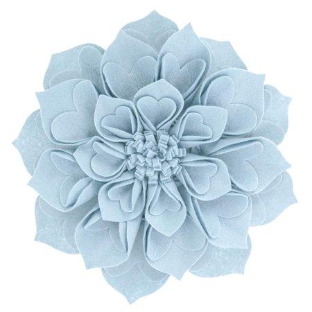 Fennco Styles Handmade 3d Heart Shaped Petals Flower