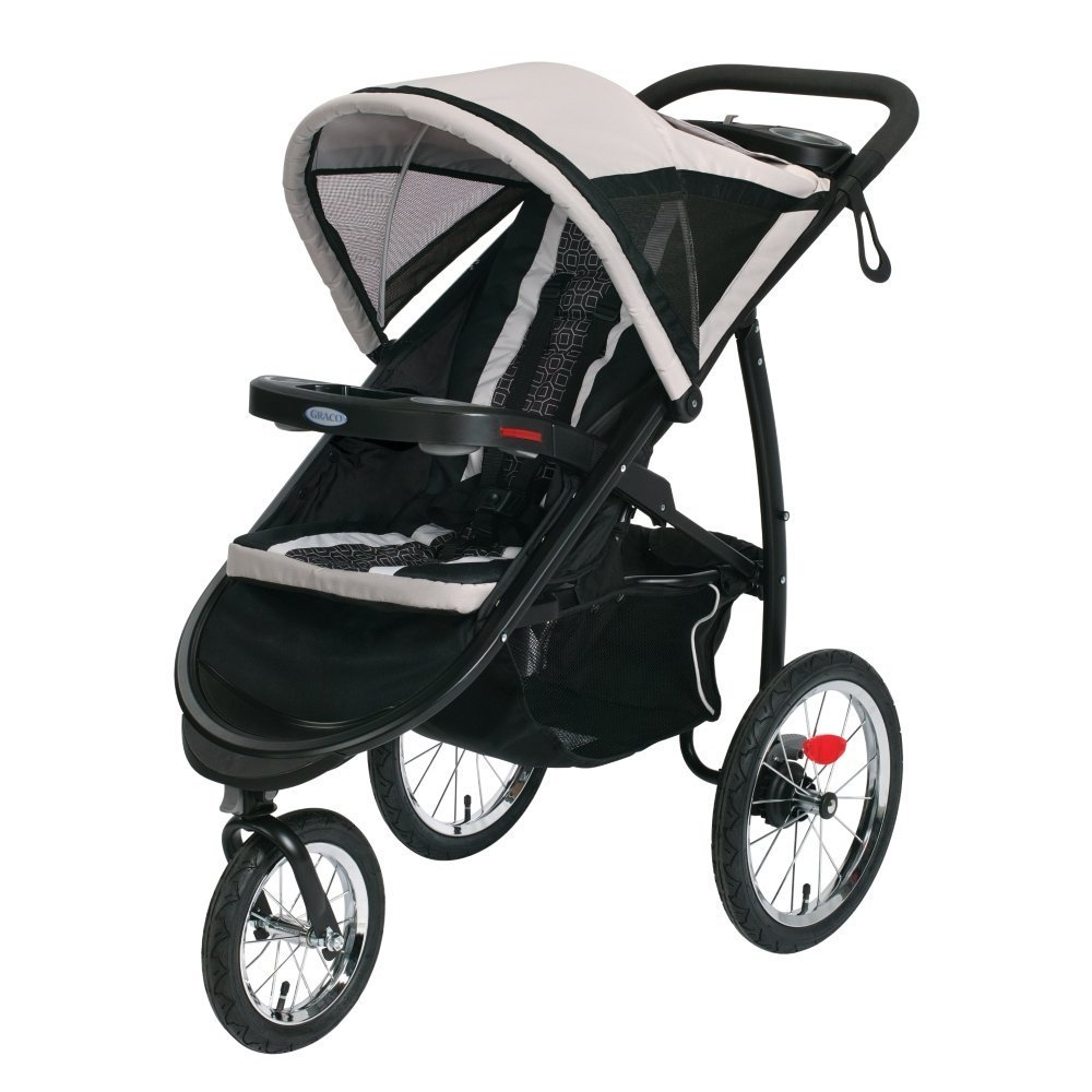 Graco Fastaction Fold Jogger Click Connect Stroller - Pierce