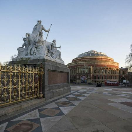 Exterior of the Royal Albert Hall from the Albert Memorial, Kensington, London, England, UK Print Wall Art By Ben Pipe