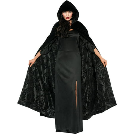 Velvet Satin Cape Adult Halloween Accessory