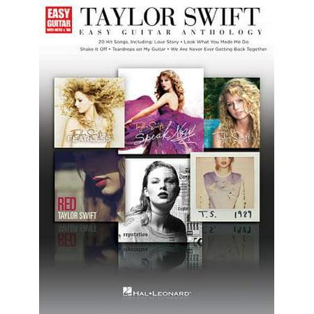 Taylor Swift - Easy Guitar Anthology ()