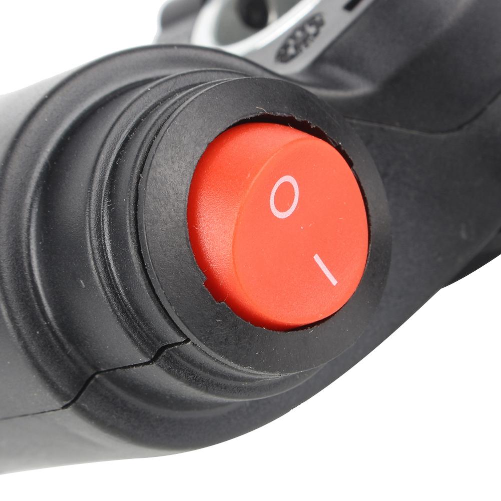 Thumb Finger Throttle Shifter Battery Display Accessory for 12V-99V E-Bike