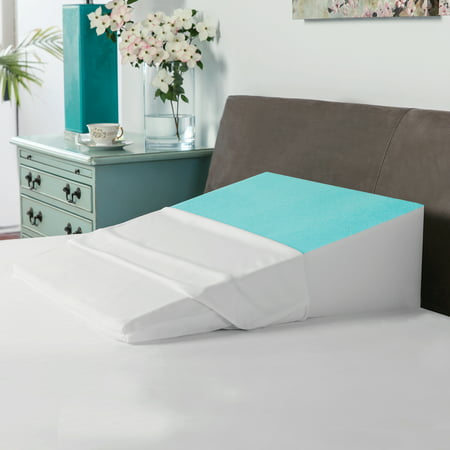BioPEDIC Memory Foam Bed Wedge with Gel Coating