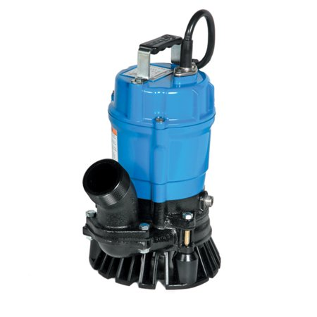 Tsurumi Hs3 75S 2 Inch 1 Hp Semi Vortex Submersible Trash Pump With Agitator
