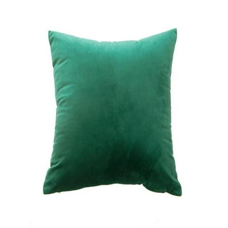 OkrayDirect Velvet Pillow Sofa Waist Throw Cushion Cover Home Decor Cushion Cover Case ()