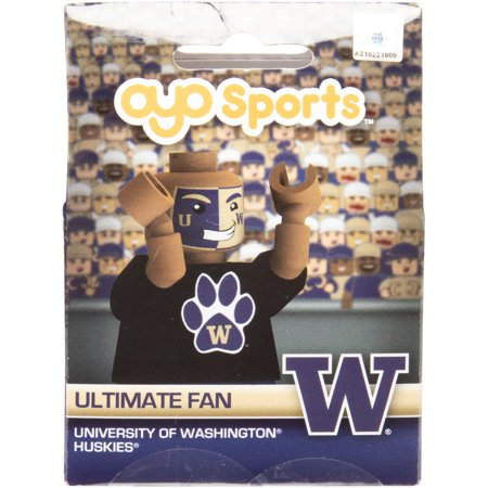 Washington Huskies OYO Sports Fan Generation 2 Player Figurine Washington Huskies Fan