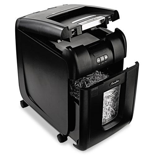 Swingline Stack-and-Shred 200XL Super Cross-Cut Shredder Plus Pack, 200 Sheet Capacity
