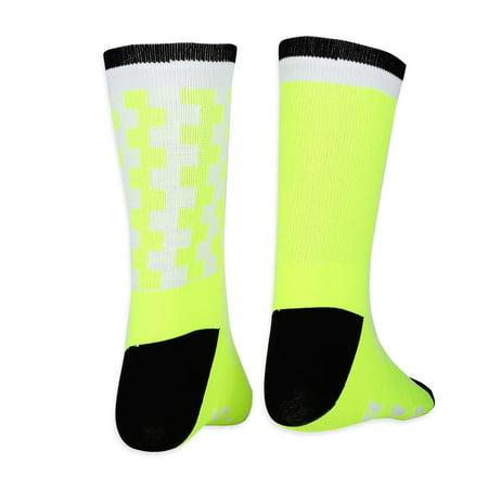Yosoo Chaussettes anti-transpiration douces et respirantes pour garder au chaud en plein air, chaussettes de basket-ball, chaussettes d'équitation et de sport - image 5 de 7