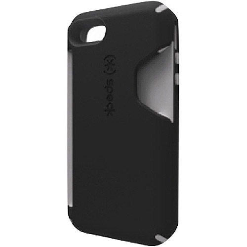 iPhone 4S - CandyShell Card - Black/Dark Grey