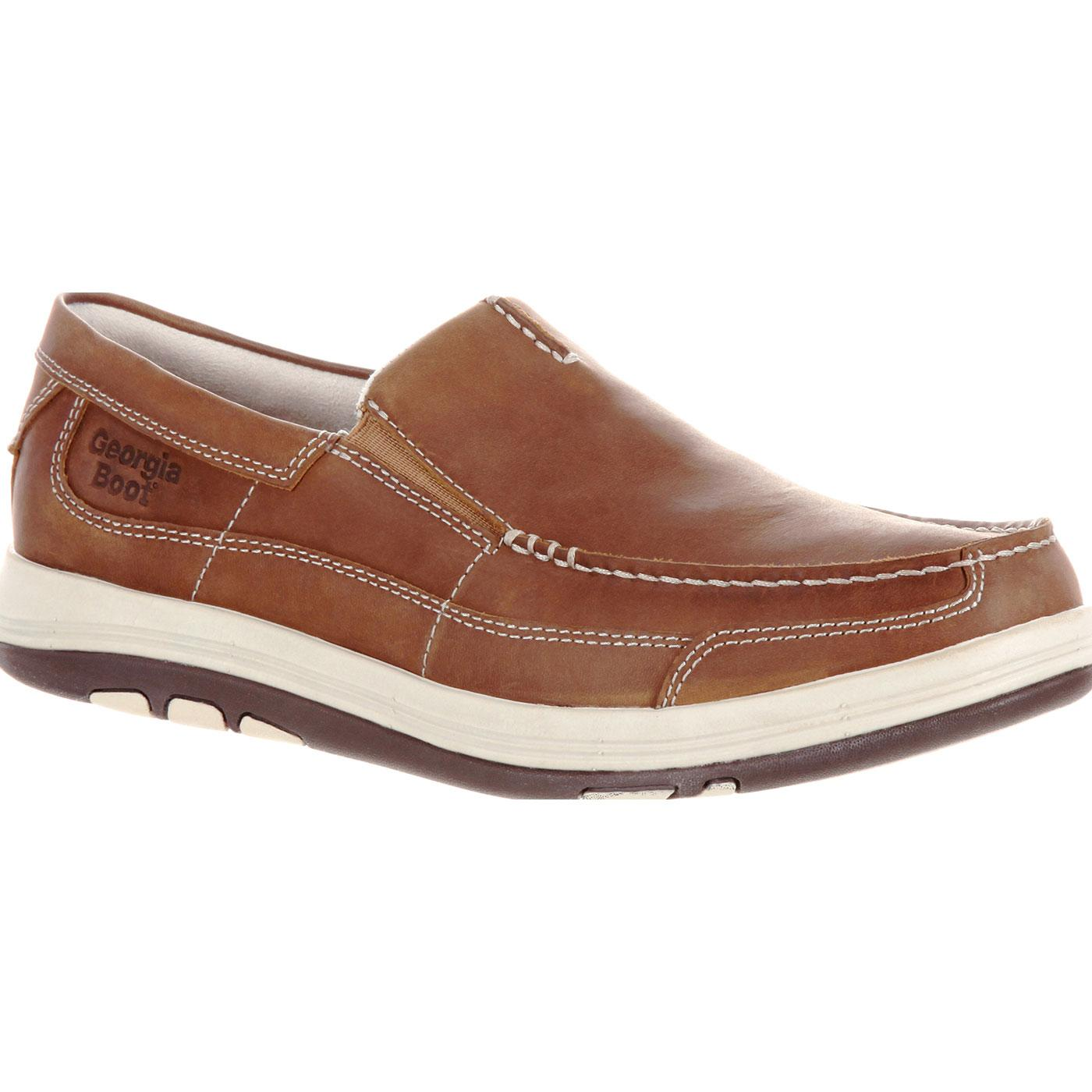 Georgia Boot Tybee Island Steel Toe Static-Dissipative Slip-On Oxford by Georgia Boot