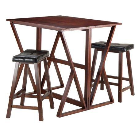 Harrington 3-Pc Drop Leaf High Table, 2 - 24