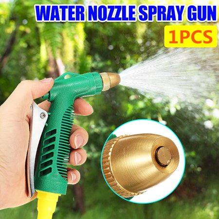 Hose Nozzle Sprayer - High Pressure Outdoor Lawn & Garden Hose Nozzle Water Sprayer Water Savin 3 Adjustable Watering Patterns for Plants Pets Car Wash Tool