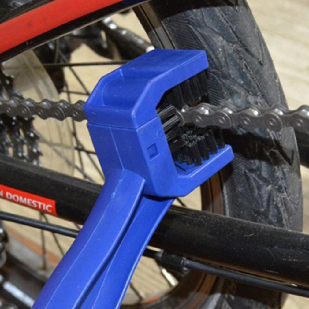 New Bicycle Chain Brush Cleaning Motorcycle Cycling Cleaner Scrubber Tool Set