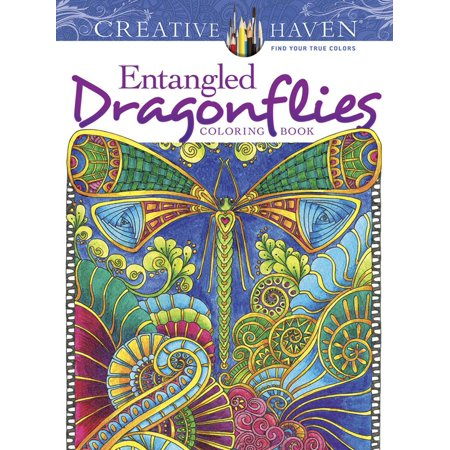 Creative Haven Coloring Books: Creative Haven Entangled Dragonflies ...