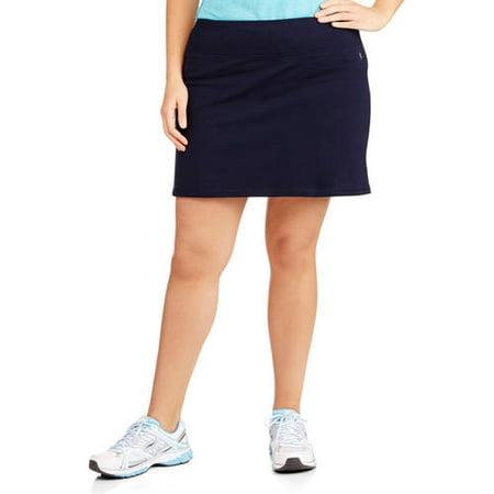 Danskin Now Women's Plus-Size Basic Skort