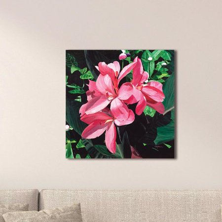 Lilies Oil Painting - August Grove 'Exotic Lilies' Oil Painting Print